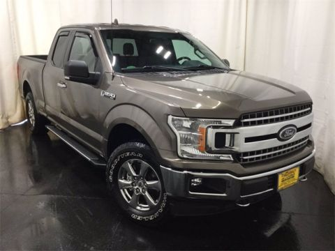 Pre-Owned 2018 Ford F-150 XLT 4WD Super Cab